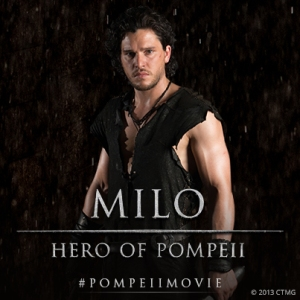 Pompeii, corny but watchable review