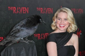 The Raven John Cusack, Alice Eve, review, trailer