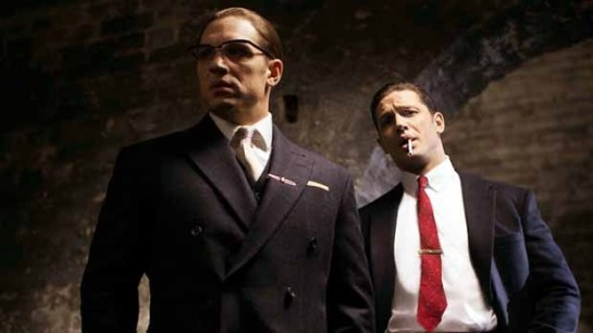 First photo of Tom Hardy as both Kray Twins from new movie