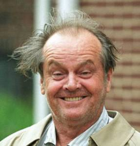 JackNicholson  Ten Richest Actors in Hollywood…. Maybe