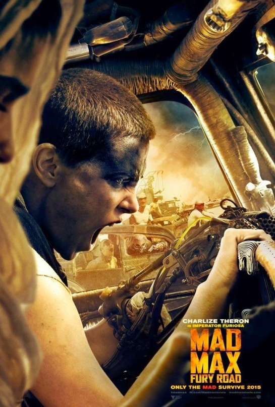 Mad Max Fury Road Teaser Trailer and Posters  Charlize Theron