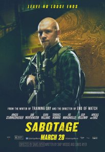 Sabotage Schwarzenegger quick review trailer