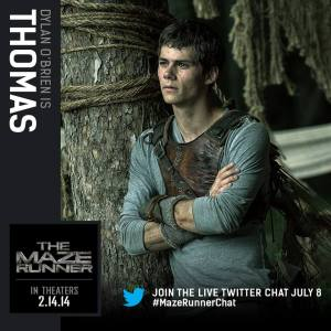 The Maze Runner Dylan O'Brien Official Trailer