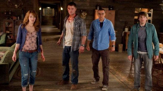 Cabin in the Woods is pure horror review trailer