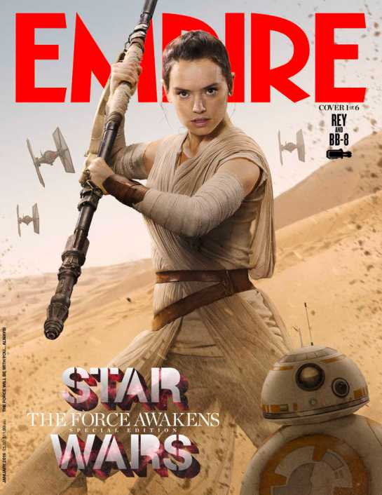 Empire Magazine reveals exclusive Star Wars cover shots 1