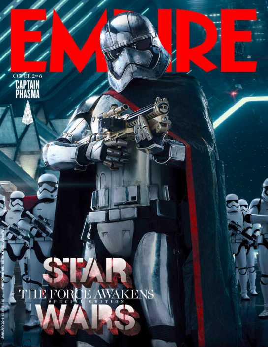 Empire Magazine reveals exclusive Star Wars cover shots 2