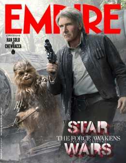 Empire Magazine reveals exclusive Star Wars covershots