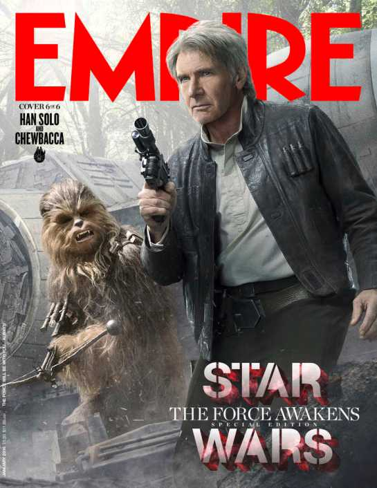 Empire Magazine reveals exclusive Star Wars cover shots 6