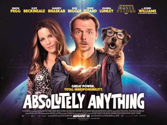 If you loved 'Paul' you will enjoy Absolutely Anything quick review trailer2