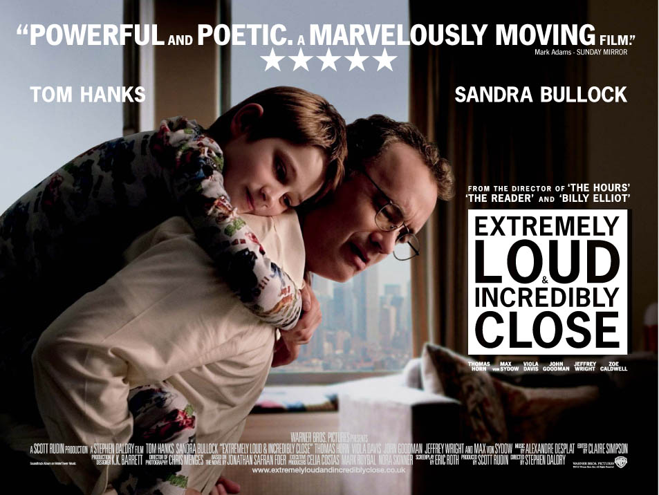 extremly loud and incrediably close Extremely loud and incredibly close imdb 69 129 min a nine-year-old amateur inventor, francophile, and pacifist searches new york city for the lock that matches a mysterious key left behind by his father, who died in the world trade center on september 11, 2001.
