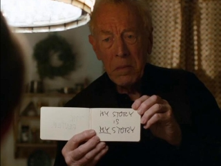 Max Von Sydow talks about Extremely Loud and Incredibly Close ,,,