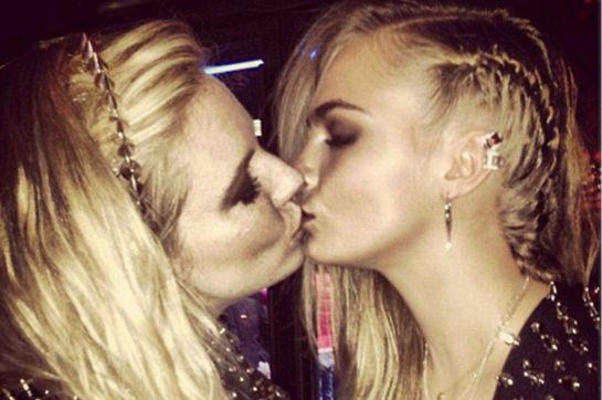 Kissing Sienna Miller
