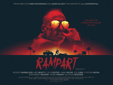 Rampart staring Woody Harrelson review trailer0
