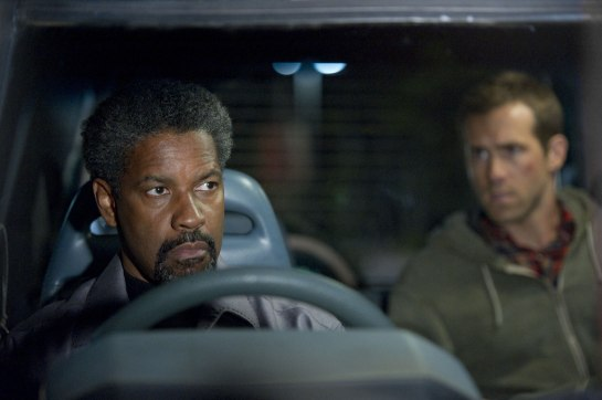 Safe House sort of works with Ryan Reynolds Denzel Washington review,.