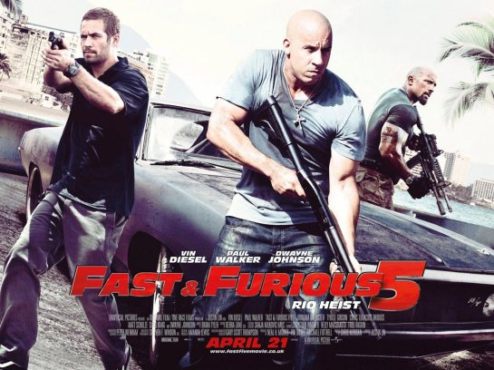 Fast and Furious 5 sightseeing in Rio review trailer