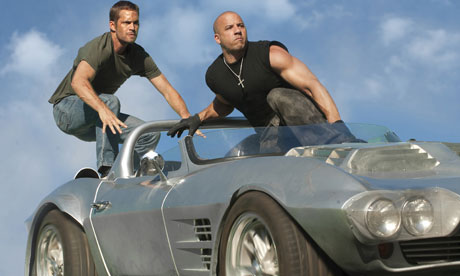 Fast and Furious 5 sightseeing in Rio review trailer.