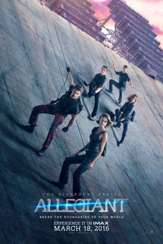 Here are the new Divergent series Allegiant posters b