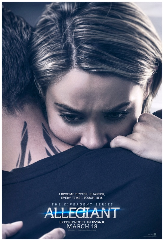 Here are the new Divergent series Allegiant posters,,