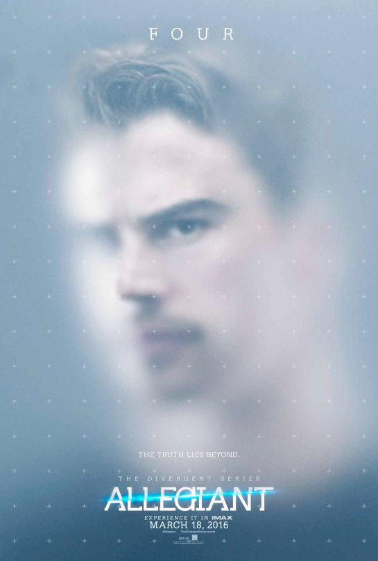 Here are the new Divergent series Allegiant posters,m