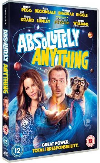Win 1 of 3 Absolutely Anything on DVDs