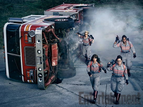Ghostbusters new images, trailer,,