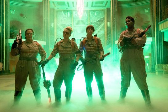 Ghostbusters new images, trailer.,.