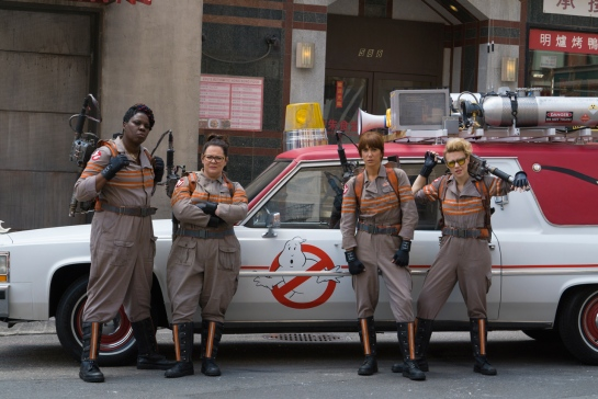 Ghostbusters new images, trailer ,,,.,