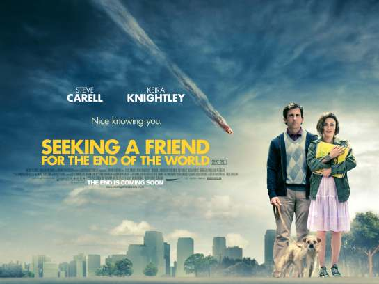 Seeking A Friend for the End of the World, review trailer