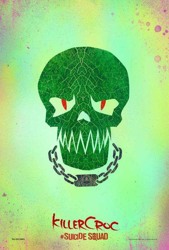 The first Suicide Squad Posters 7