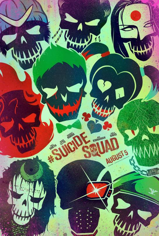 The first Suicide Squad Posters
