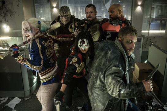 The first Suicide Squad Posters ,