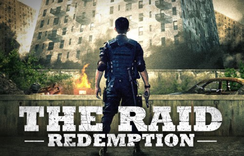 The Raid Redemption all action review trailer
