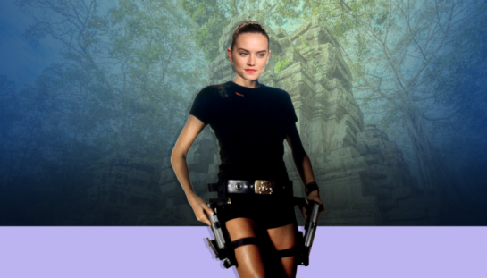 Daisy Ridley Star Wars amazing audition video leads to Lara Croft Role..