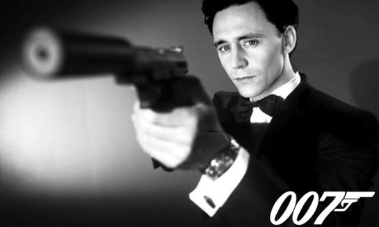 M .. Judi Dench says Tom Hiddleston is her choice for next 007