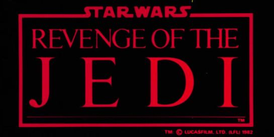 Revenge Of The Jedi Trailer .. and I have not made a mistake