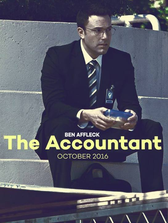 Trailer for The Accountant looking good with Ben Affleck.