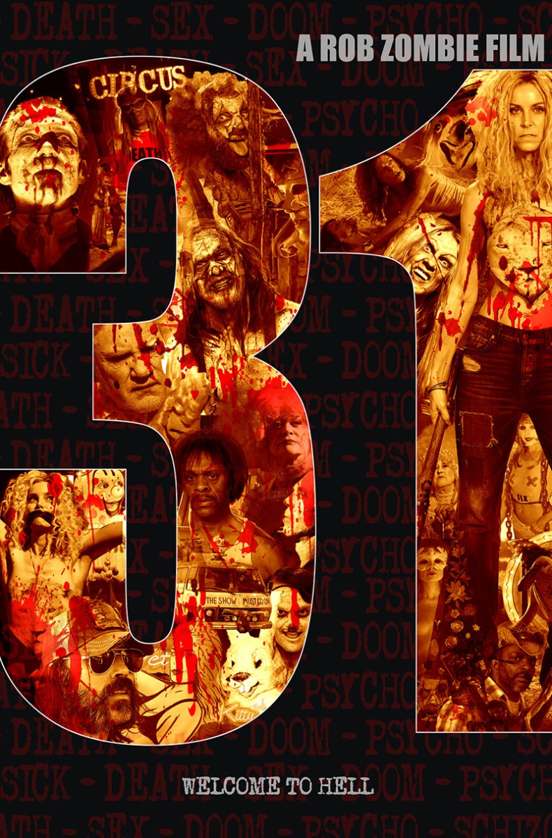 Rob Zombie new movie 31, release date posters