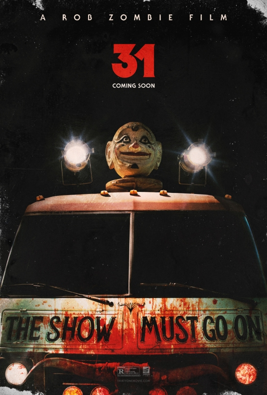 Rob Zombie new movie 31, release date posters and trailer