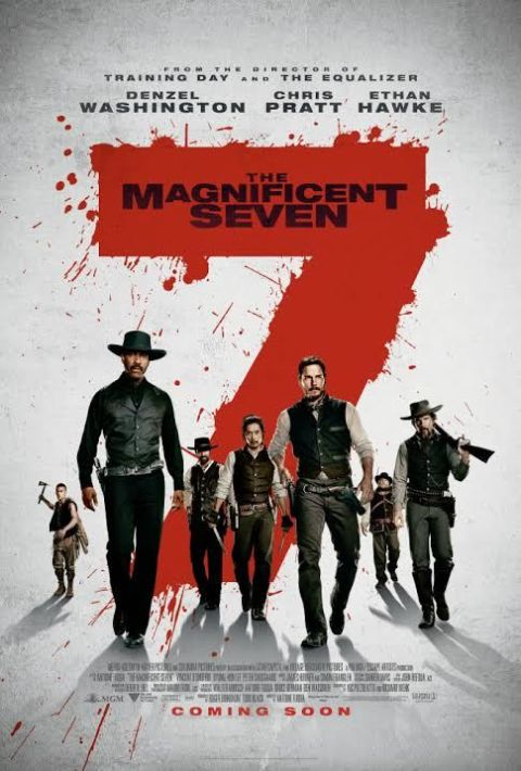 The Magnificent Seven new poster plus trailer