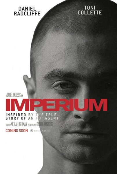 Imperium Daniel Radcliffe, Toni Collette - Official Trailer and images,