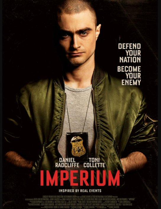 Imperium Daniel Radcliffe, Toni Collette - Official Trailer and images,,