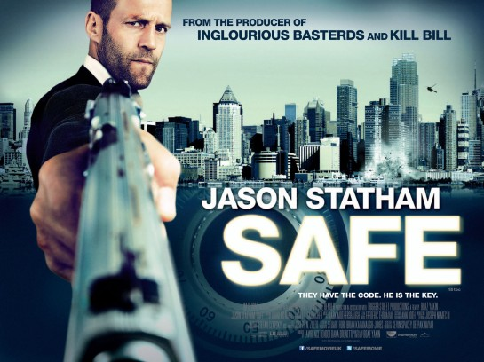 Safe … Jason Statham does what Jason Statham does review trailer
