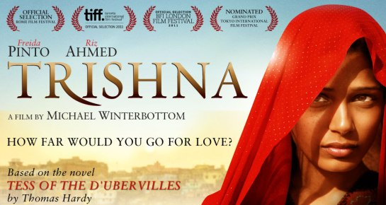 Trishna, Tess of the D'Urbervilles in India review trailer,
