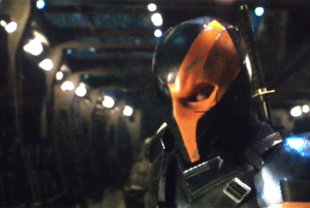 Footage of Deathstroke posted on Twitter by Ben Affleck