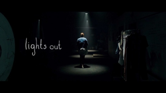 Lights Out new horror movie from David F. Sandberg trailer, images