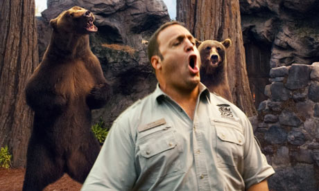 Zookeeper a gimmick movie that shouldnt be let out of the cage review trailer,.