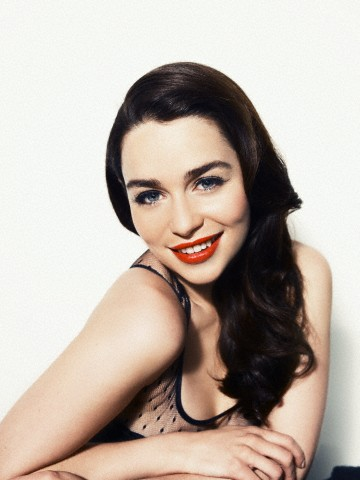 26 Jan 2012 --- Emilia Clarke --- Image by © Williams + Hirakawa/Corbis Outline