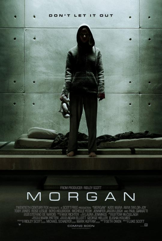 Morgan Horror Sci-Fi Artificial Intelegence Trailer created using AI